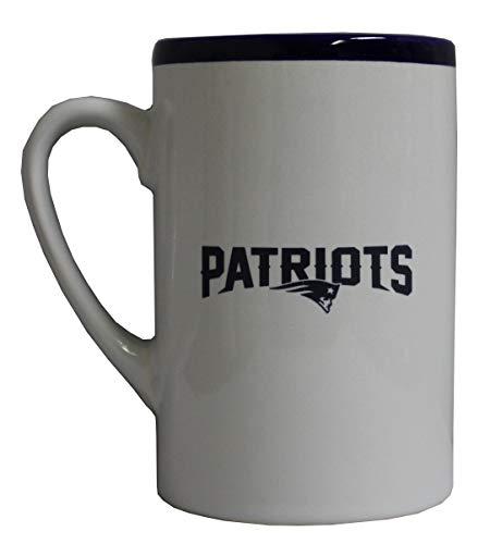 Boelter New England Patriots 16 oz Rim Style Ceramic Mug ()