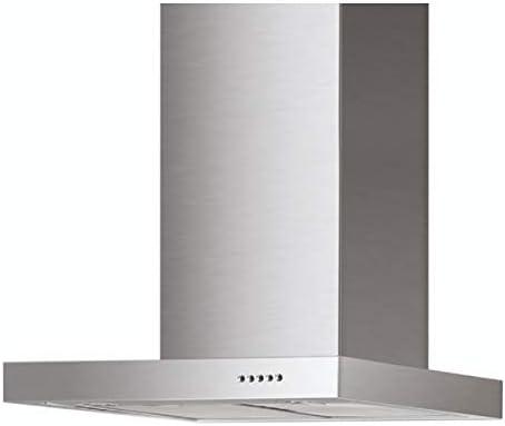 TS06A/60 - Campana extractora (60 cm, montaje en pared, acero inoxidable): Amazon.es: Grandes electrodomésticos