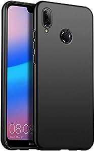 Huawei Nova 3e Case, Thin Hard PC Black