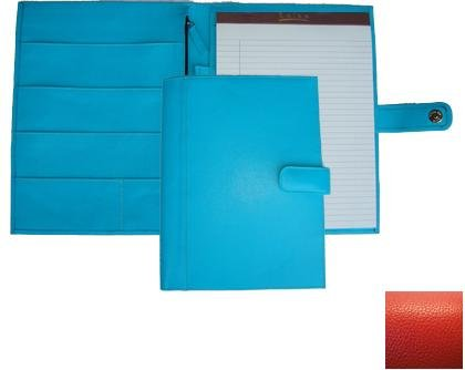 Raika RO 220 RED 9.5in. x 12.5in. Soft Constructed Writing Pad - Red by Raika