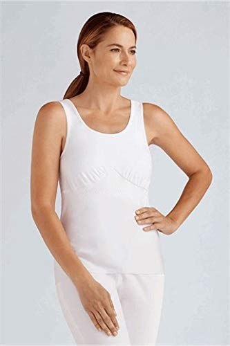 - Amoena Women's Michelle Post- Surgery Pocketed Camisole,White,X-Large (18/20)