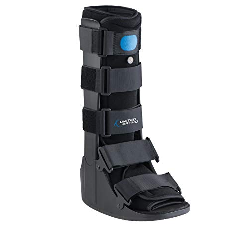 United Ortho Air Cam Walker Fracture Boot, Medium, Black ()