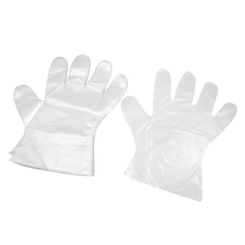 Ezee Disposable Plastic Hand Gloves - 360 Pieces