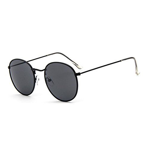 Sinkfish SG80026 Sunglasses for Women,Anti-UV & Retro Round Reflector - UV400/Black - Uk Online Burberry