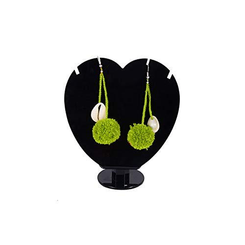 Taashya Pompom /& Shell Dangling Earrings