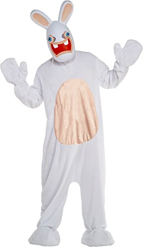 LF Centennial Pte. Deluxe Rabbids Adult Costume Large White -