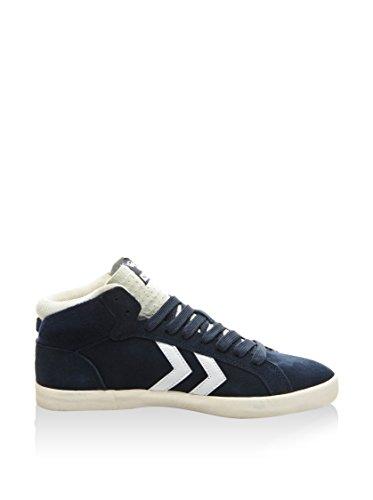 Hummel Sneaker Game Mid Blu Scuro/Bianco EU 40