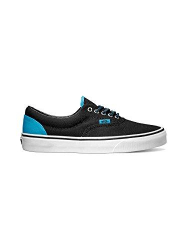 Vans Unisex Era (Heel Pop) Black/HawaiianOcn Skate Shoe 11.5 Men US