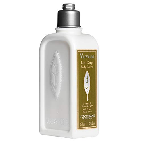 L'Occitane Verbena Body Lotion Enriched with Grapeseed Oil and Organic Verbena, 8.4 fl. oz.