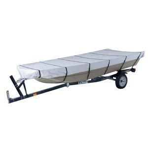 """Dallas Manufacturing Co. 300D Jon Boat Cover - Model B - Fits 14' w/Beam Width to 70"""""""