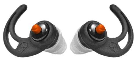 SportEar X-Pro Plugz, Black by SportEar