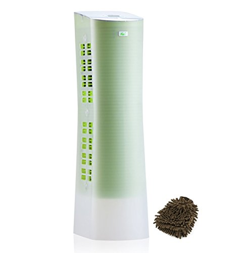 Alen Paralda Air Filter Purifier Tower, HEPA (Complete Set) w/ Bonus: Premium Microfiber Cleaner Bundle
