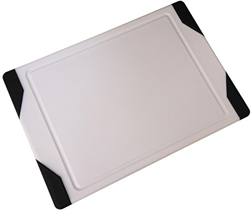 Checkered Chef Plastic Cutting Board - Dishwasher Safe Meat and Chicken Poly Cutting Board - Non Slip makes it...