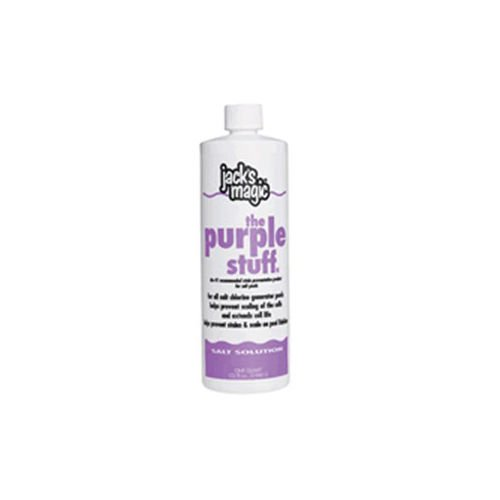 Jack's Magic The Purple Stuff Pool Stain and Scale Preventer - 2 x 1 Quarts