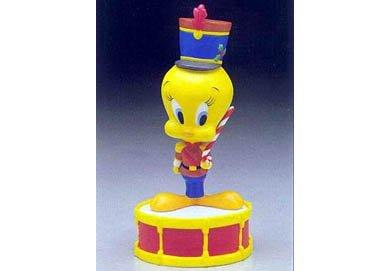 Widdle Drummer Bird Tweety Bird Statue Little Drummer Boy