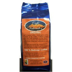 1 Lb Artisan Roasted Organic Bolivian Coffee for Espresso (AAA), Cafe Valverde