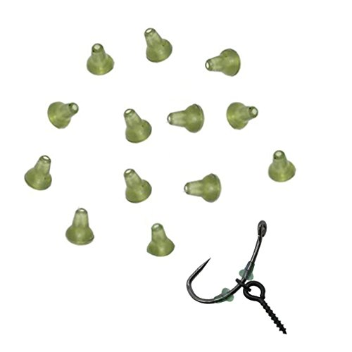 NEWSHOT Hook Stops Beads Carp Fishing Terminal Tackle for Pop Up Hair Chod Rigs Bait Screws(Pack of 30) ()