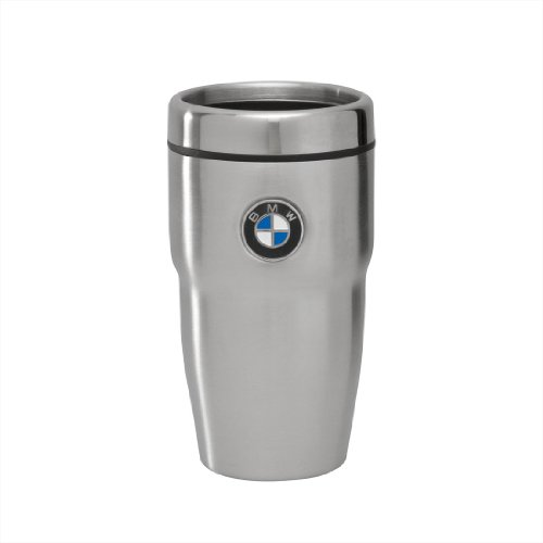 BMW Insulated 12oz. Travel Mug - Stainless Steel Finish