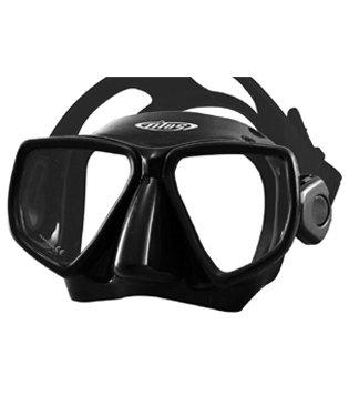 Tilos Flex 2-Window Non-Purge Frameless Mask (Black/Black) ()
