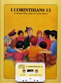 I Corinthians 13: New King James Version : an illustrated Bible chapter for young children (1 Corinthians 13 New King James Version)