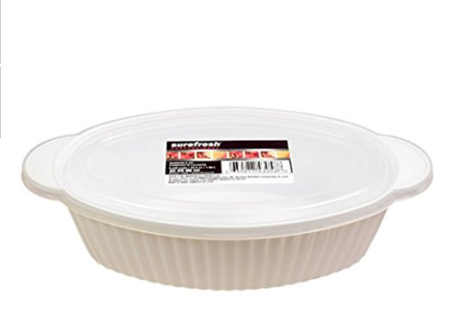Sure Fresh Professional Oval Food Container with Lid