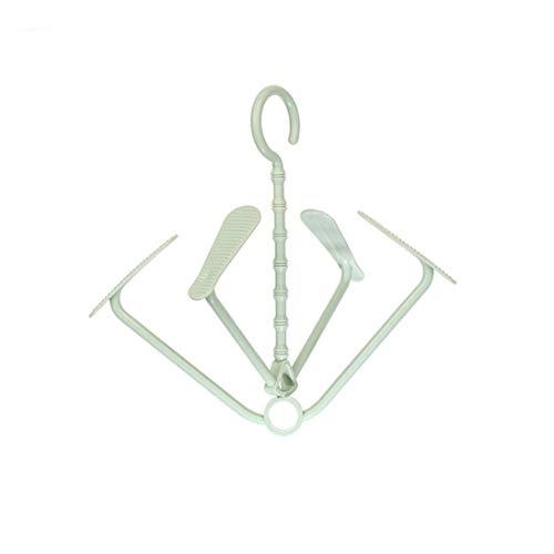 Nesee Multifunction Drying Rack Hanger Pockets Shelf Shoe Cl