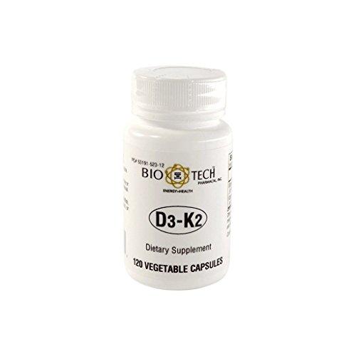 Bio-Tech D3-K2 120 Vegcaps
