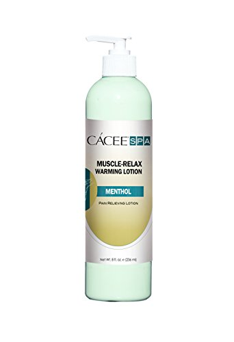 E2 Cream (Massage Lotion For Muscle Warming Therapy w/ Pump, Pain Relief Hot Cream For Muscle, Back, Body Therapy - Cacee (8)