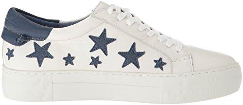 Jslides Dames Alabama Fashion Sneaker Wit / Marine