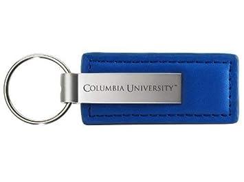 Universidad de Columbia - Llavero de piel y metal, color ...