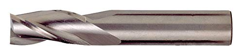 TiAlN Cleveland Corner Radius End Mill Number of Flutes: 3 CEM-SE-3 3//16 Milling Dia. C81666 Pack of 2 5//8 Length of Cut