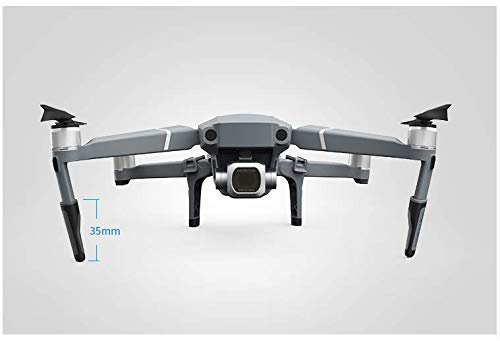 Flycoo PGYTECH - Engranaje de Aterrizaje para dji Mavic 2 Pro/dji Mavic 2 Accesorios de protección de Zoom 3,5 cm de Altura (Engranaje de Aterrizaje): ...
