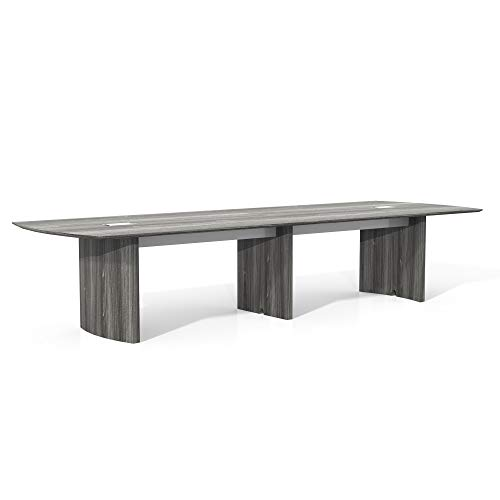 Safco Products MNC12LGS Medina Table, 12', Gray ()