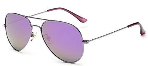 Moda Sol Sunglasses Colorful De Shopping Travel Purple Gafas Lady De HF6Cwq8x