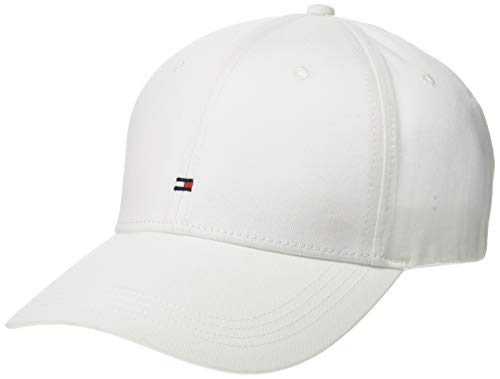 Tommy Jeans Men's Classic BB Dad Hat, White, OS ()