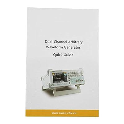 Arbitrary Waveform Generator 2 Channel Function Signal Generator 25MHz 125MSa/s 14bits 100V-240V 50/60HZ