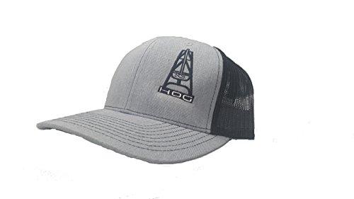 088ddcf3c68 Richardson 3D Puff Hooey Hog Oil Field Hat Cap Snapback Adjustable Adult  Unisex