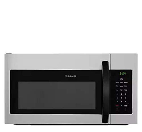 Frigidaire FFMV1645T 30 Inch Wide 1.6 Cu. Ft. 1000 Watt Over-the-Range Microwave, Silver ()
