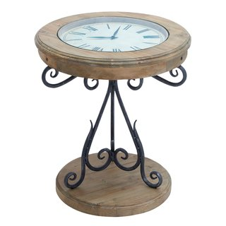 Ordinaire Unique Round Clock Coffee Table And End Tables Your Design. Great Glass  Coffee Table Has