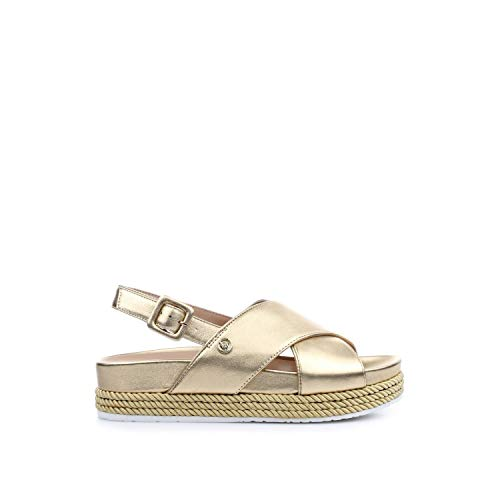 sandal 02 Gold Ouvert Or Jo gold Metallic Liu Femme Bout Leather 00529 Patty 1waEct