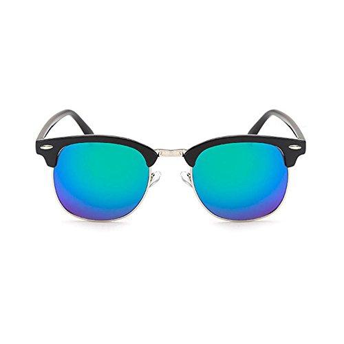 7cfcee659c855c Aoligei Riz de Vintage classique nail color film fashion tendance lunettes  de soleil réfléchissantes centaines tour