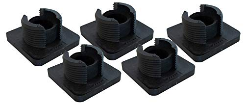 5 Pack Fafco Sunsaver Replacement Base and Cap for Roof Strap