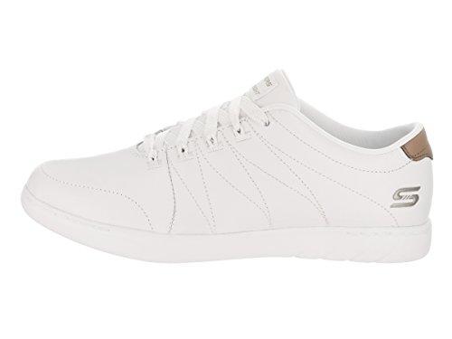 Skechers Damen jahrtausendealte–Den Hohen Weiß Casual Schuh 5,5Frauen Uns