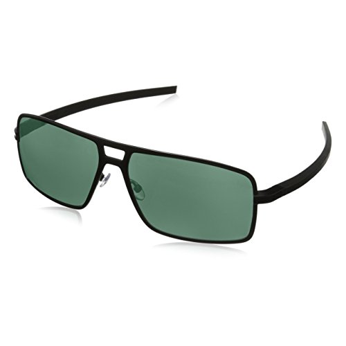 cab92e7f05 TAG HEUER Unisex-Adult 66 0987 305 621503 66 0987 305 621503 Polarized  Square Sunglasses