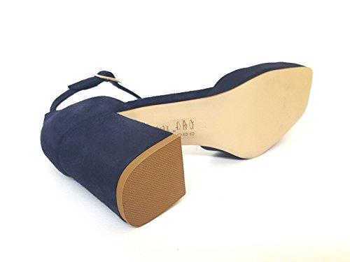 Tosca Pour Femme Bleu Sandales Blu Hq4SrH