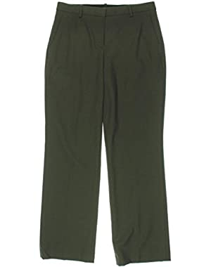 Theory Womens Lolka Virgin Wool Twill Dress Pants