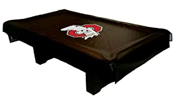 Ohio State Pool Table Cover   Universal Fit