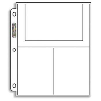 Ultra-Pro 3-Pocket Pages (4X6) - 100 Pages per Box (Quantity of 1) [Misc.] (Original Version) ...
