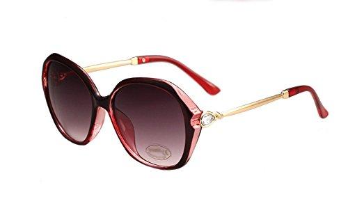 diarias para vacaciones Wicemoon de mujer para colores UV 2 playa playa de sol o con espejo de diamante sol gafas gafas Gafas protección cristales de 2 de rUqWqHTZ