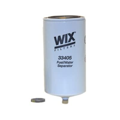WIX Filters - 33405 Heavy Duty Spin On Fuel Water Separator, Pack of 1: Automotive